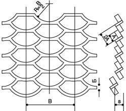 Лист стальной просечно-вытяжной (лист ПВЛ)