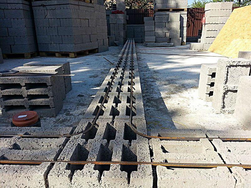 Керамзитобетон кладка армирование проставки для бетона