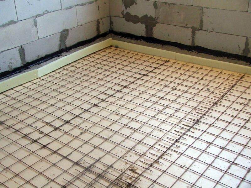Технология монтажа армирующей сетки